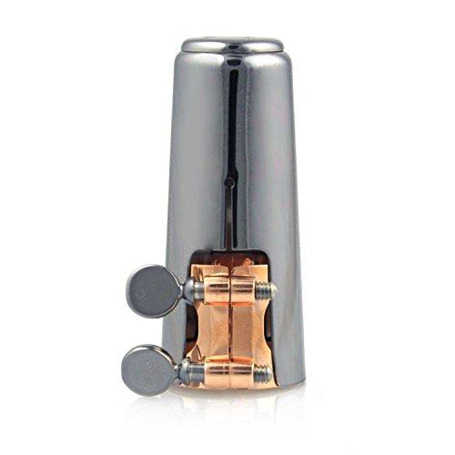 Buffet Icon–Ligadura para clarinete Böhm–Rotgold/niquelado
