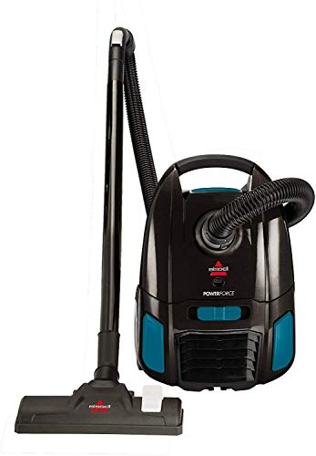 Bissell PowerForce Bagged Canister Vacuum Cleaner Lightweight & Powerful Suction with Telescoping Wand, Multi-Surface Cleaning Nozzle