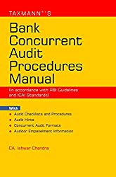 Bank Concurrent Audit Procedure Manual