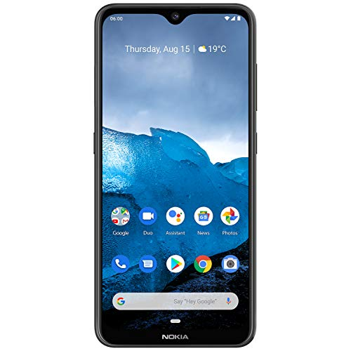 Nokia 6.2-4GB / 64GB Black - Dual Sim - 3500 mAh (6.3') 1080 x 2280 Pixel, Qualcomm Snapdragon, 16 MP, Android 9.0, Nero