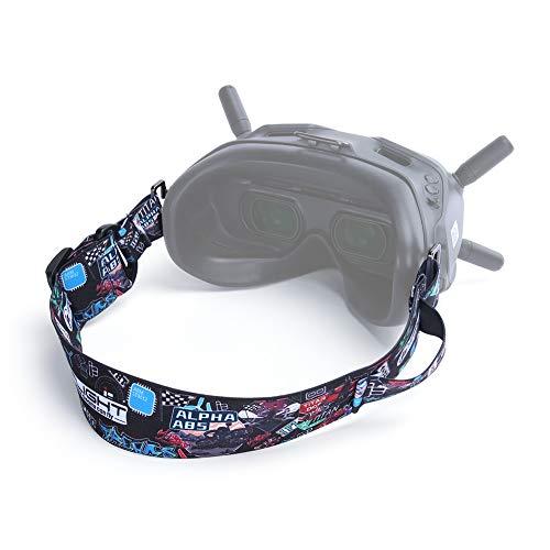 iFlight Adjustable Detachable Head Strap with Aluminum Alloy Buckle for DJI Digital HD FPV Goggles and Fatshark Goggles