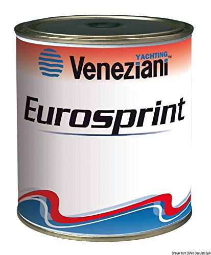 Veneziani Eurosprint Bianco Antivegetativa a matrice dura, colore: Bianco, size: 750 ml