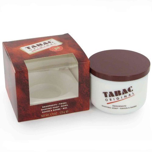 Tabac Original by Maurer & Wirtz for Men 4.4 oz Rechargable Shaving Soap Bowl by Maurer & Wirtz