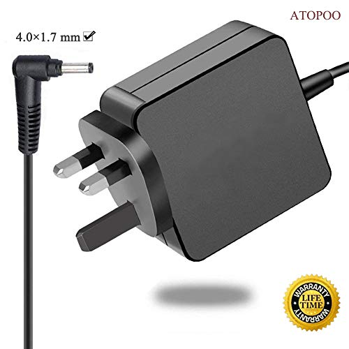 ATOPOO Compatible with Lenovo Laptop Charger 20V 2.25A 45W Power Adapter Replacement Lenovo IdeaPad 100 110 110-Touch 300 310 310s 320 320s 510 520s Yoga 310 520 Lenovo N22 N42 4.0 * 1.7