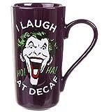 for-collectors-only Batman Tasse Latte Mug XL Jumbo Kaffeetasse The Joker Laughing Latte Macchiato Becher für max. 420ml Füllmenge