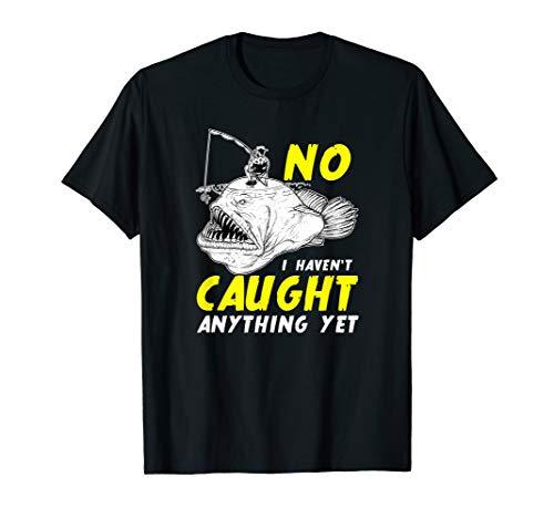 Angeln Nichts Angebissen - Anglerfisch Fischen Seeteufel Fun T-Shirt