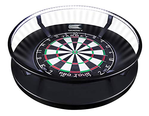 Target Darts Corona Vision Dartboard Lighting System Lumière Mixte, Noir, White LED Lights