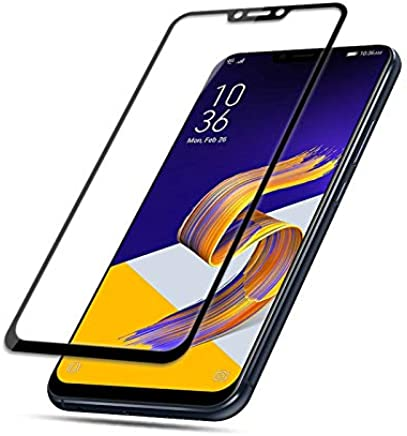Película de Vidro 3D Asus Zenfone 5 5Z Tela Toda, Cell Case, Película de Vidro Protetora de Tela para Celular, Preto