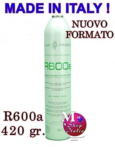 Flasche Kältemittel R 600a Isobutan R600a 420g 750 ML Einweg - Kühlschränken