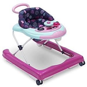 crib bedding and baby bedding delta children first exploration 2-in-1 activity walker, orbit