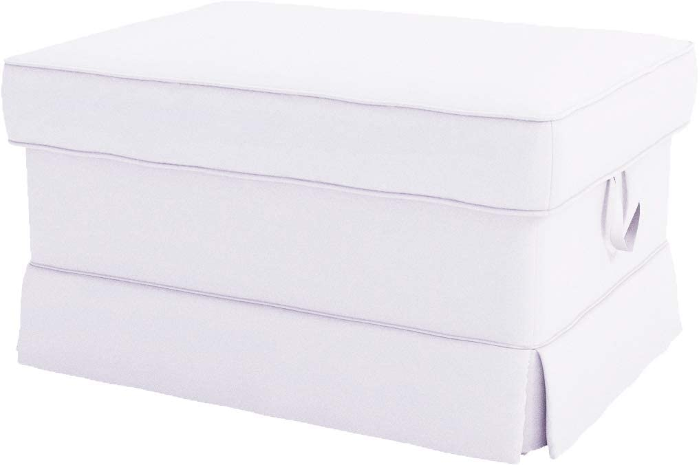 The Heavy Cotton Ektorp Ottoman is Courier trend rank shipping free Made Cover Replacement Compat