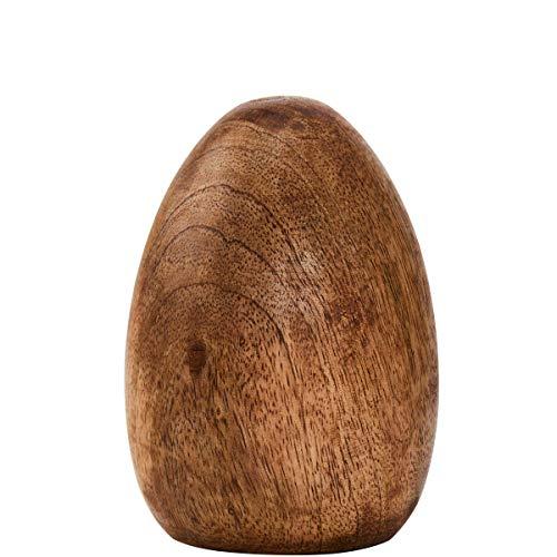 Butlers Easter Deko Ei - Osterei aus Mango-Holz - natürliche Osterdekoration