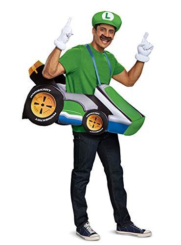 Disfraz de Kart de Luigi para Adulto - Super Mario Bros: Amazon.es ...