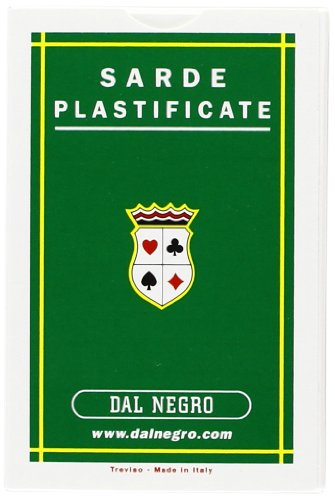 Dal Negro 10041 - Sarde Carte da Gioco Regionali, Astuccio Verde