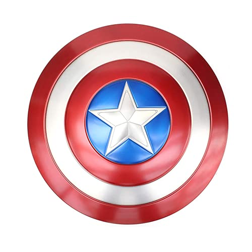 CRHC Captain America 20-inch Metal Shield Cosplay Role-Playing Props