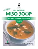 Mishima Instant Soup Mix, White Miso, 1.05-Ounce Packets (Pack of 12)