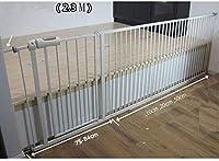 ベビーゲート フェンス ドア付き 圧力フィット安全メタルゲートは、幅が利用可能な拡張機能でペットゲートベビーゲートを304cmするために75から選択することができる78センチメートル長身 (Color : H78cm Width, Size : 275-284cm)