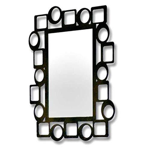Espejo de forja Pop - 6-Negro