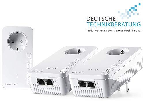 Devolo Magic WiFi router Wifi/Multiroom rondom zorgeloos pakket. 2400 Mbit/s Magic 2