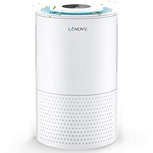 LONOVE Dehumidifiers - Upgraded 5000 Cubic Feet (450 Sq ft) Dehumidifiers for Home Basements Room Bedroom Bathroom Closet RV, 2000ml (68oz) Quiet Auto-off Large Dehumidifiers with Drain Hose (White)