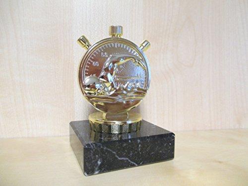 Schwimmen - Figur 10 cm - Pokal - Turnier - Kinder - Sporttrophäe - Trophäe - Geburtstag - goldfarbig -