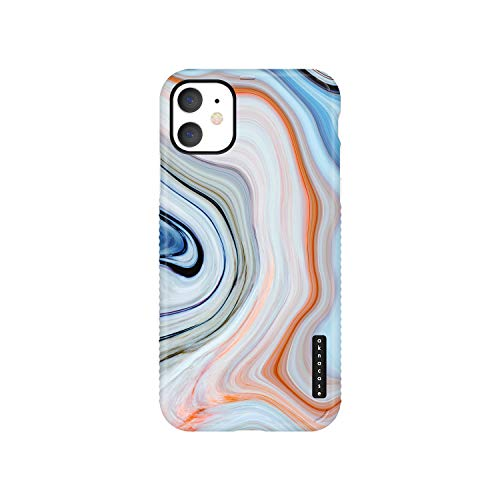 iPhone 11 Case Marble, Akna GripTight Series High Impact Silicon Cover with Ultra Full HD Graphics for iPhone 11 (Graphic 102115-U.S)