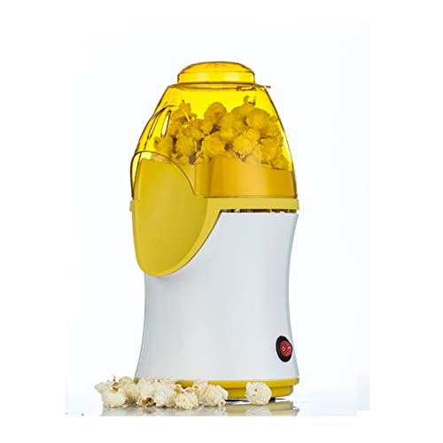 Máquina de Palomitas de maíz eléctrica para el hogar Mini máquina de ensacado de Palomitas de maíz con secador de Pelo Máquina de Palomitas de maíz eléctrica Máquina de Palomitas de maíz