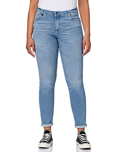 ARMANI EXCHANGE Super Skinny Lift Up Jeans, Denim Indaco, W25 Donna