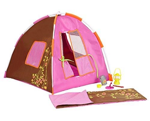 Our Generation- Barbie Set di Accessori da Campeggio per Bambole, Colore Unico, BD37050Z