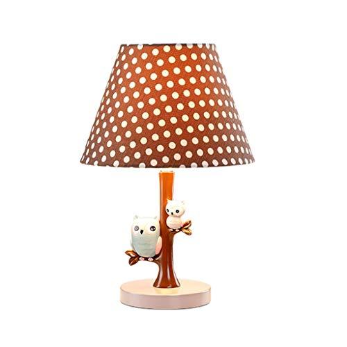 Tafellamp bedlampje stoffen lampenkap slaapkamer licht creatief leuke hars nachtkastje bureaulamp voor slaapkamer woonkamer bureaulampen