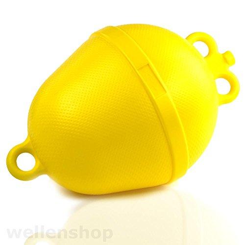 wellenshop Ankerboje Ø 250 mm Schwimmkörper Auftriebskörper Gelb