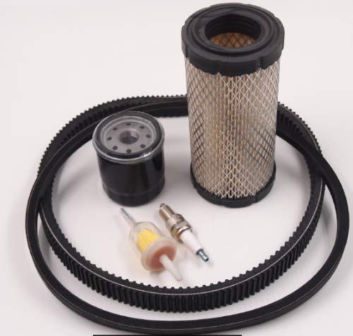 Huskey EZGO RXV TXT 2008-2011 Kawasaki Engine Golf Cart Tune Up Kit Drive Belt Starter Gen. Belt