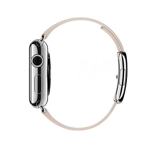Apple Watch MJ402B/a 42mm, cassa in acciaio con pelle marrone chiaro loop-parent