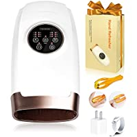 Guwell 6 Levels Electric Cordless Hand Massager with Heat Therapy