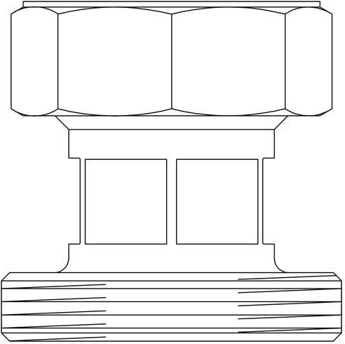 Oventrop Répartiteur de Réducteur pour hydraulique souple DN 40/50 sur regumat DN 32