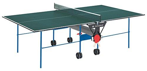 Tischtennisplatte Joker, Indoor Automatiktisch, 16 mm Feinspannplatte,...