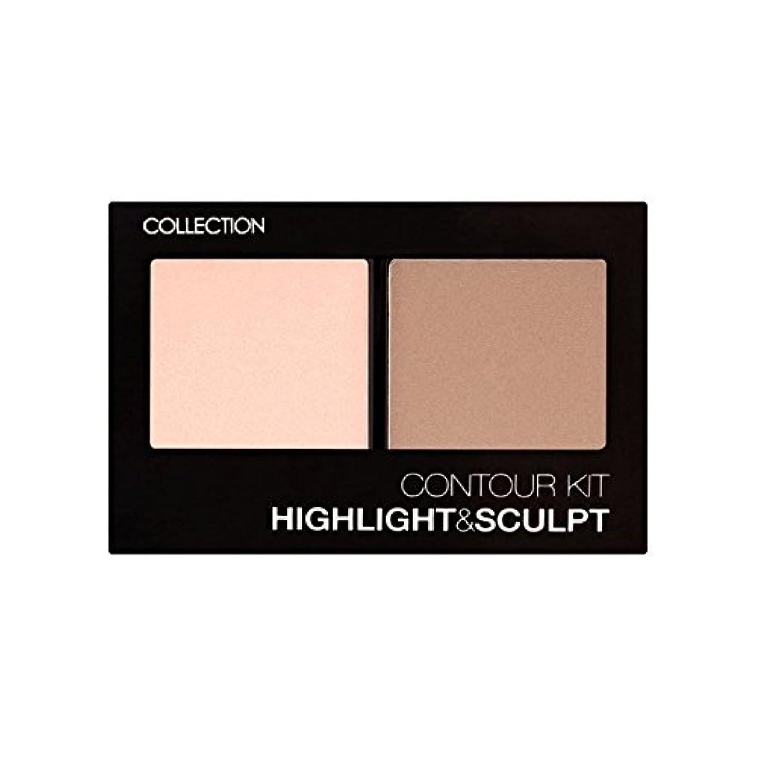 眉棚ブラケットCollection Contour Kit Contour Kit 1 (Pack of 6) - コレクション、輪郭キット輪郭キット1 x6 [並行輸入品]