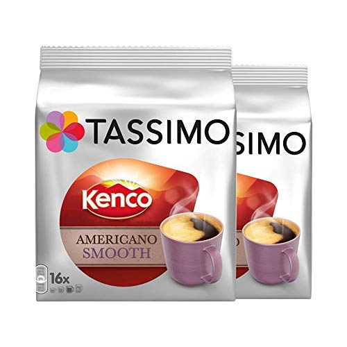 Packung aus 2 Tassimo Kenco Americano Grande mit je 16T-Discs