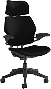 """Humanscale Freedom Task Chair with Headrest 