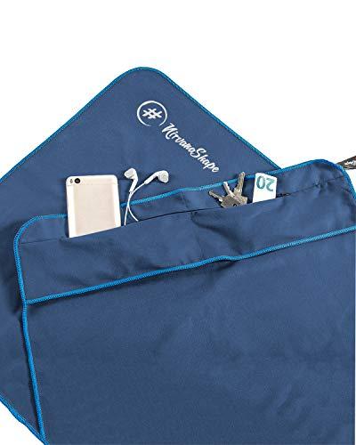 NirvanaShape ® Fitness Handduk | Tillverkad av Stark Mikrofiber med Magnetspännen |Snygg &...