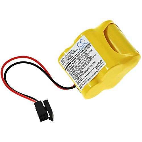 Pila de Litio PLC para Panasonic Modelo BR-2/3AGCT4A, 6V, Lithium-Mangandioxid