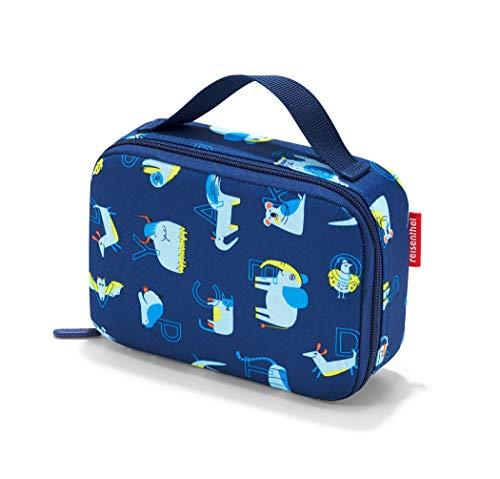 reisenthel thermocase kids OY4066 abc friends blue – Isoliertes Etui mit 1,5l Volumen – Schützt Kosmetika, Lebensmittel & Co. vor Wärme und Schmutz – B 20 x H 14 x T 6,5 cm