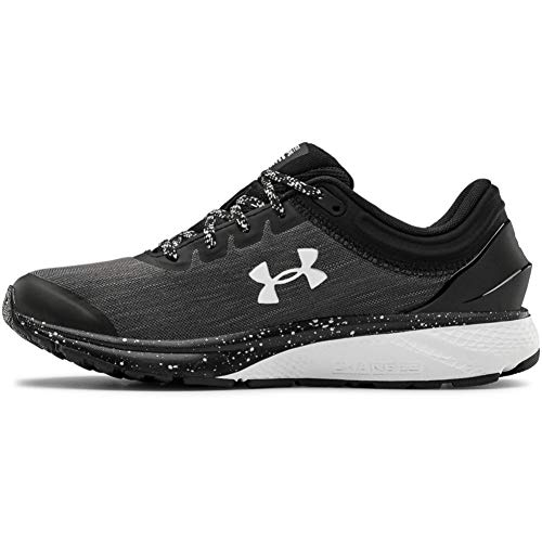 Under Armour Women's Charged Escape 3 Evo Running Shoe, Black, 9.5 M US