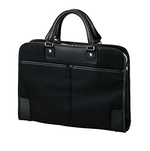 エレコム ビジネスバッグ キャリングバッグ A4対応 薄マチ&自立タイプ 15.6インチまで対応 ブラック BM-OR03BK