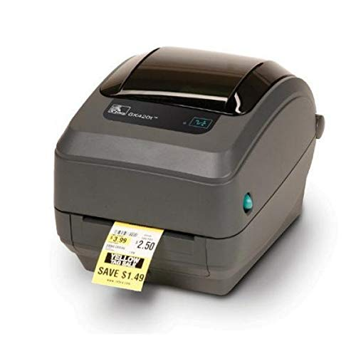 Zebra GK420t rev2, 8 punten/mm (203dpi), EPL, ZPL, USB, printer (Ethernet)