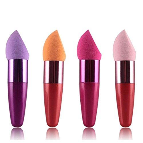 Oyfel Pinceau Maquillage Mousse Professionnel Synthétiques pour Ombre à Paupière Blush Fondation Highlighter Poudre Fond de Teint Anti-cerne 1 PCS Couleur Aléatoire