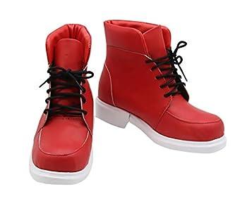 CLLMKL`COS My Hero Academia Boku no Hero Academia Izuku Midoriya Cosplay Shoes  Female US8/EU41  Red