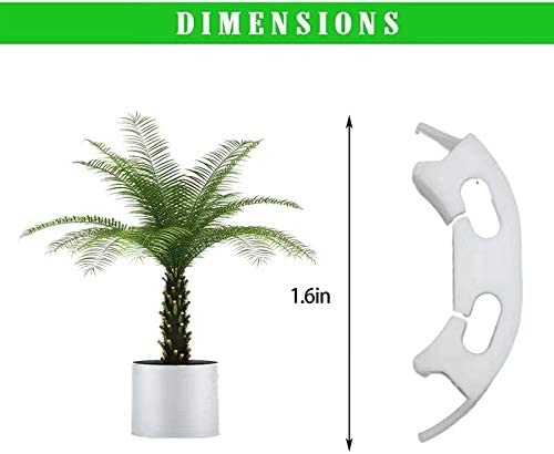AFORIZO Plant Bender,Twig Clamps Plant Training for Low Stress Training,Plant Clips for Support Growth Manipulation Kit,Control The Growth of Plants. 50PCS