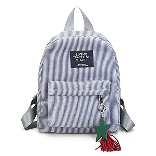 MingSheng Mochila, mochila para mujer, estilo informal, para escuela, viaje, para adolescentes., GY, Talla única