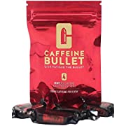 Caffeine Bullet Mint Energy Chews *40 – Faster Boost Than Gels, Tablets and Gum. 100mg Caffeine - Sport Science for Running, Cycling, Gaming & Pre Workout Endurance Kick.